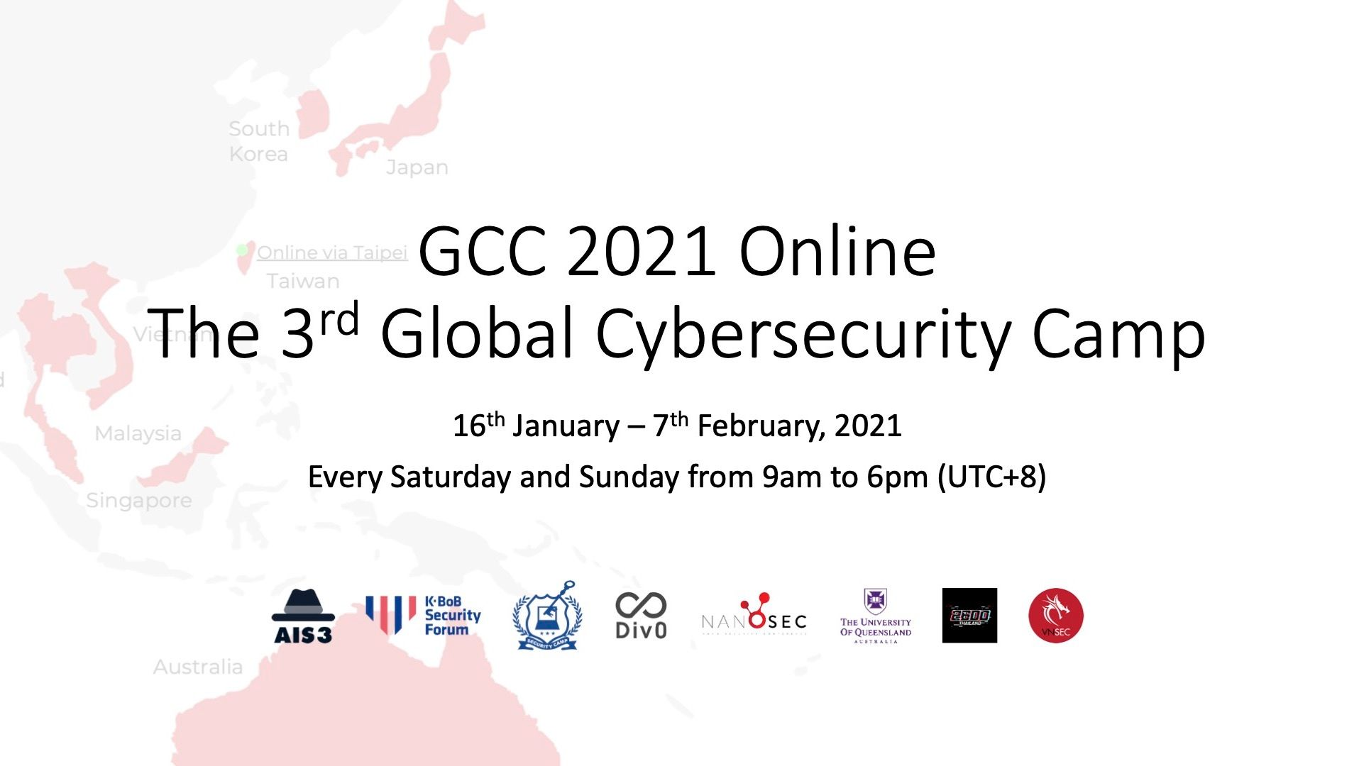Global Cybersecurity Camp - GCC 2021 Online を開催しました